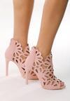 Różowe Sandały Preciose