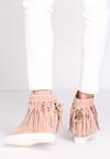 Różowe Sneakersy Laverne
