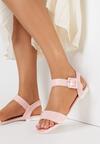 Różowe Sandały Lucky Strike