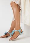 Niebieskie Sandały Tangle