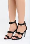 Czarne Sandały Lumos