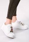 Białe Buty Sportowe Pina