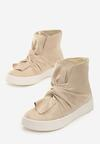 Beżowe Sneakersy Scilla