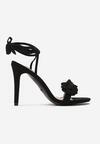 Czarne Sandały Celly