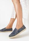 Czarne Espadryle Palm Beach