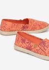 Pomarańczowe Espadryle Summer Breeze