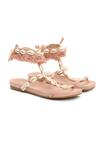 Różowe Sandały Mistresses