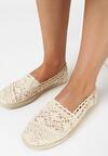 Beżowe Espadryle Satisfyingly