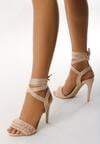 Beżowe Sandały Researcher