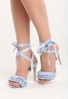 Błękitne Sandały Blussy