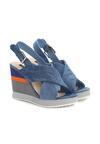 Niebieskie Sandały Summer Wind