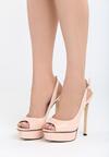 Różowe Sandały My Way