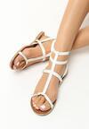 Białe Sandały Felicitate