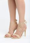Beżowe Sandały Bottommost