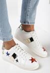Biało-Złote Buty Sportowe Teran