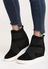 Czarne Sneakersy Merni