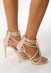 Beżowe Sandały Wiren