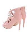 Różowe Sandały Valentine