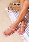 Różowe Sandały Roundup