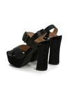 Czarne Sandały Black Row