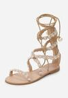 Beżowe Sandały Passionate