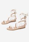 Białe Sandały Passionate