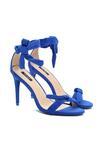 Kobaltowe Sandały Staple