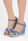 Niebieskie Sandały Enough Rests