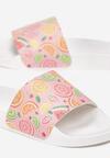 Różowe Klapki Tutti Frutti