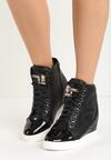 Czarne Sneakersy Lumen