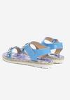 Niebieskie Sandały Flury