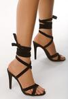 Czarne Sandały Choosy