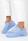Jasnoniebieskie Buty Sportowe Classical Nilda