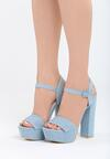 Niebieskie Sandały Independent