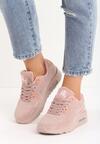 Różowe Buty Sportowe Viintage Nilda