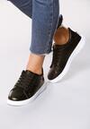 Czarne Buty Sportowe Slipcover
