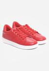 Czerwone Buty Sportowe Slipcover