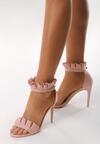 Różowe Sandały Amazing
