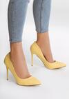 Żółte Szpilki Modern Lady