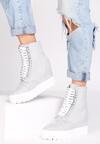 Szare Sneakersy Snow White