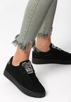 Czarne Buty Sportowe Rebellious