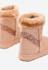 Różowe Śniegowce Vanity Fair