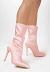 Różowe Botki Burlesque