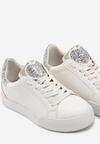 Biało-Srebrne Buty Sportowe You'll Love It