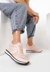 Różowe Sneakersy Hype