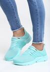 Miętowe Buty Sportowe Soft