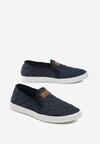 Granatowe Slip On Julian