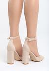 Beżowe Sandały Grown Woman