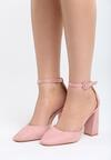 Różowe Sandały Grown Woman