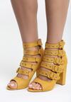 Żółte Sandały Little Curtsy